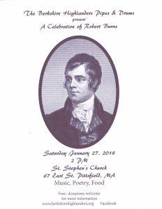 A Celebration of Robert Burns @ St. Stephen's Church | Pittsfield | Massachusetts | United States